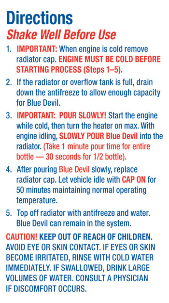 Head Gasket Repair New Head Gasket Repair Blue Devil Review