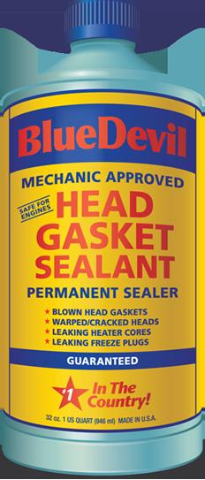 Head Gasket Sealer : Head gasket sealant blue devil permanent sealer oz ebay